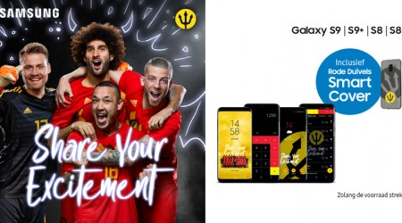 Gratis Red Devils Smart Cover bij Samsung Galaxy